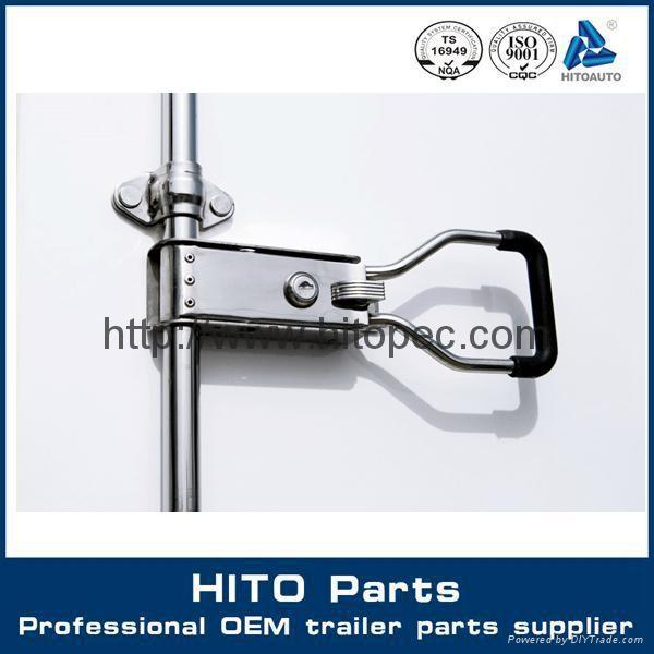 stainless steel paddle handle lock 1