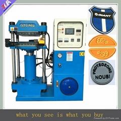 automatic hydraulic press machine for molding silicone label