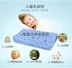 泰国进口天然乳胶枕儿童枕-106