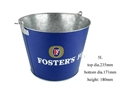 5L Oval Metal Ice Bucket with Handle,