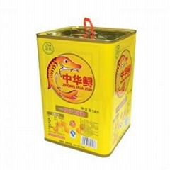 sesame oil tin barrel in large size made