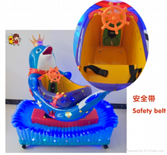 2015 Hot sell coin operared kiddie ride swing machine park ride amusement
