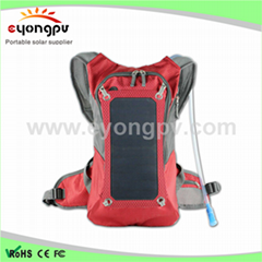 2016 hot sale Outdoor Solar Hiking Backpack