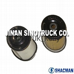 Shacman truck parts/ truck engine parts- Fuel filter 614080739+614080740