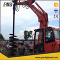hydraulic earth auger /ground hole drilling machiner 4