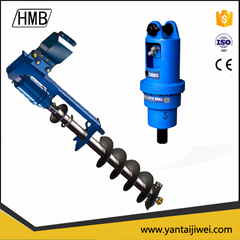 hydraulic earth auger /ground hole drilling machiner