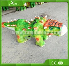 自贡嘉华电动仿真恐龙玩具车