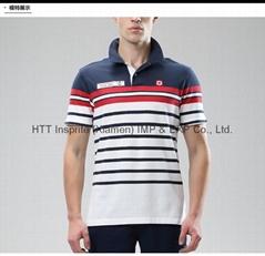 2015 New Arrvial Atripe Casual Polo Shirt