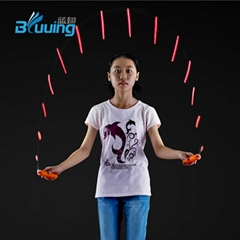 Promotion children toys kids gift speed color change light up led skipping rope