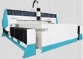 NEW type 6*2M 420Mpa granite design CNC water jet cutting machine