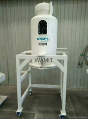 waterjet residual abrasive removal system for waterjet cutter