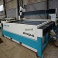 automatic water jet metal cutting