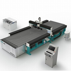 tempered laminated glass sheet high pressure water jet cutting machine price