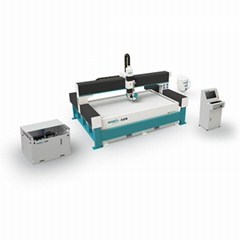 WAMIT 3000*2000mm cnc plastic water jet cutting machine price