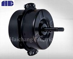 Exhaust fan motor capacitor start