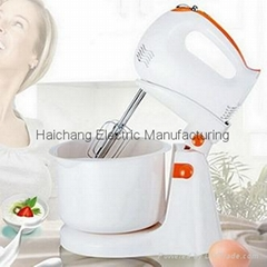 CB approval 5 Speeds Multifunction Electric Stand mixer and Hand Mixer with plas
