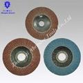 elastic 4''--7'' aluminia  flap disc