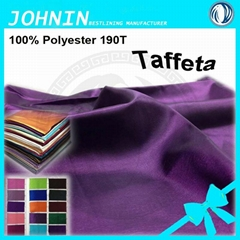 100% polyester 190T taffeta