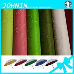 water proof taffeta fabric for umbrella Shaoxing Polyester 190T Taffeta Fabric