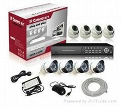 8ch Wifi NVR IP Camera Kits