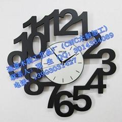 CNC加工木製時鐘