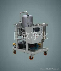 每分鐘25升抗燃油濾油機KR-LJ25系列