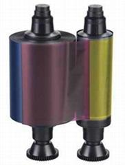 hot R3011 YMCKO Color Compatible Ribbon - 200 prints