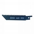 100mm Bi-Metal Sabre Saw Blade for Cutting Metal 3