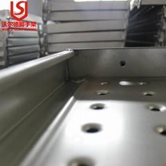 Construction platform scaffolding plank