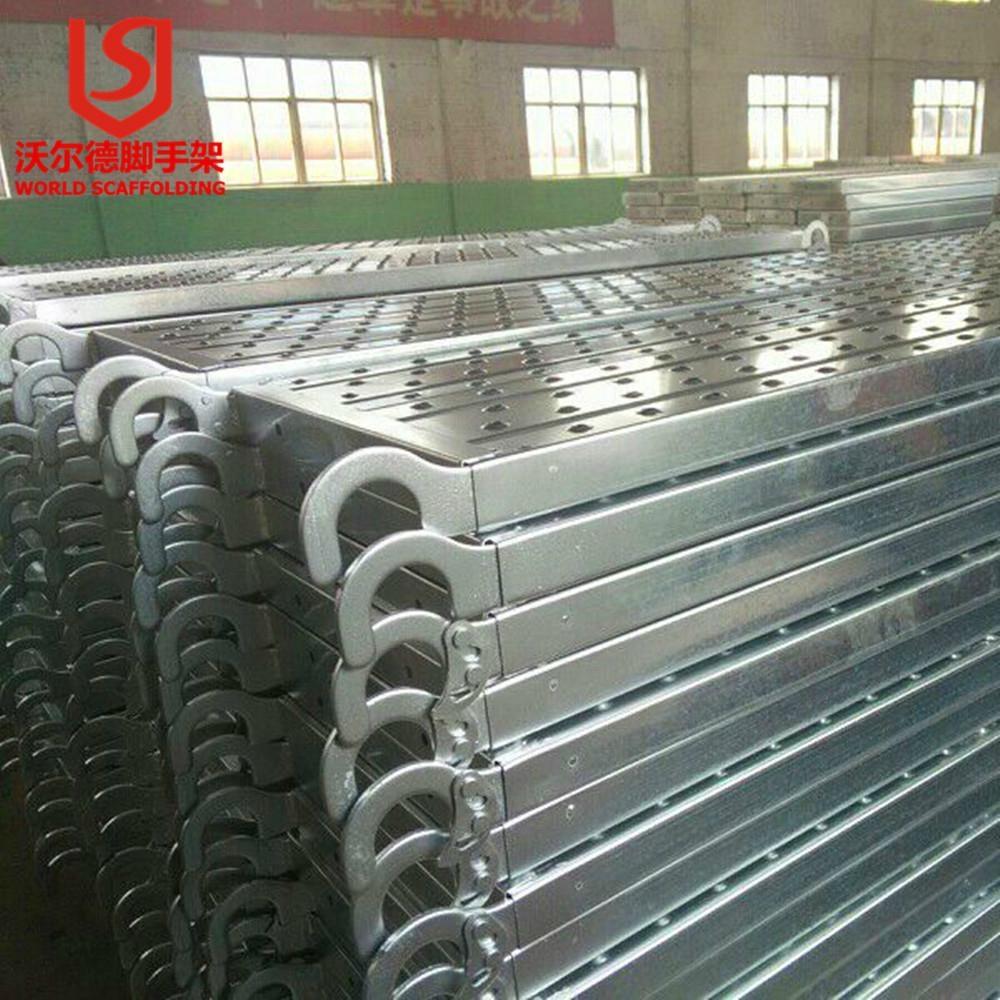 Hot selling Factory Price Ga  anized scaffold Metal Steel Catwalk Hook on Board 3