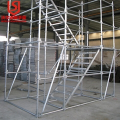 high quality hot dip ga  anized ringlock scaffolding for working platform