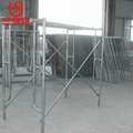 Latest type galvanized scaffolding frame for wholesale 1