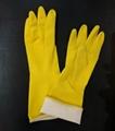 Latex kitchen glove 1