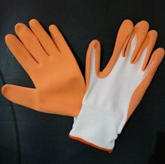 Gardening latex glove