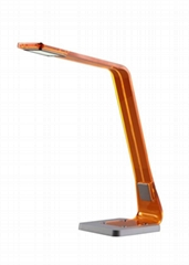 Modern design LED desk lamp with nightlight mode function