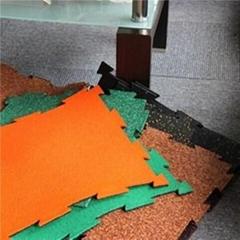 Interlock Rubber Tiles