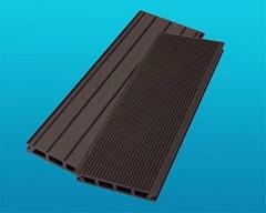 wood plastic composite outerdoor decking floor