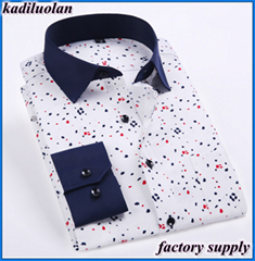 new fashion shirt wide neck for man