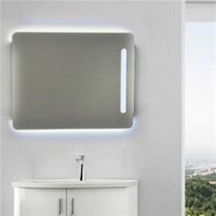 Aluminium Bathroom LED Light Mirror (GS052)