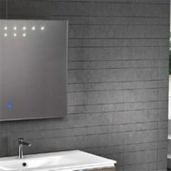 Aluminium Bathroom LED Light Mirror (GS008)