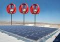 Vertical Axis Wind Turbine & Solar
