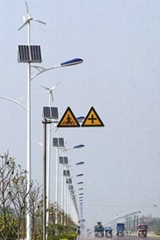 Wind and Solar Hybrid Road Lamp