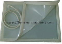 silicone bags for EVA glass laminating, Can follow customers size
