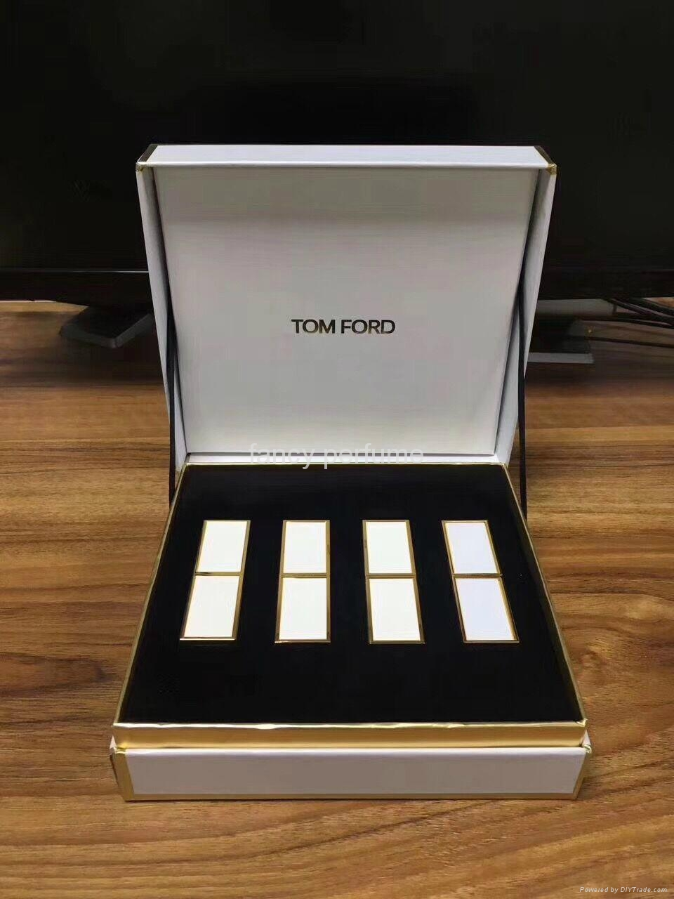 tom ford lipstick gift sets for lady 1 to 1 quality Aluminum tube 2