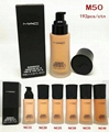 Mac foundatio Waterproof Curling face mac Makeup