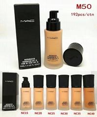 Mac foundatio Waterproof Curling face mac Makeup
