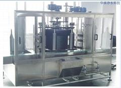 華承廠家直銷三加侖瓶裝水桶裝水灌裝線專用自動化設備
