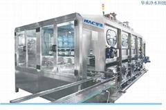 华承厂家直销五加仑桶装水瓶装水专用灌装线设备