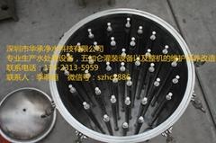 深圳華承山泉水水處理自動化反滲透設備