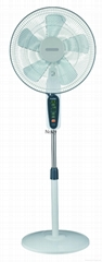 """FD-40TC5I 16"""" stand fan with timer and remote control"""